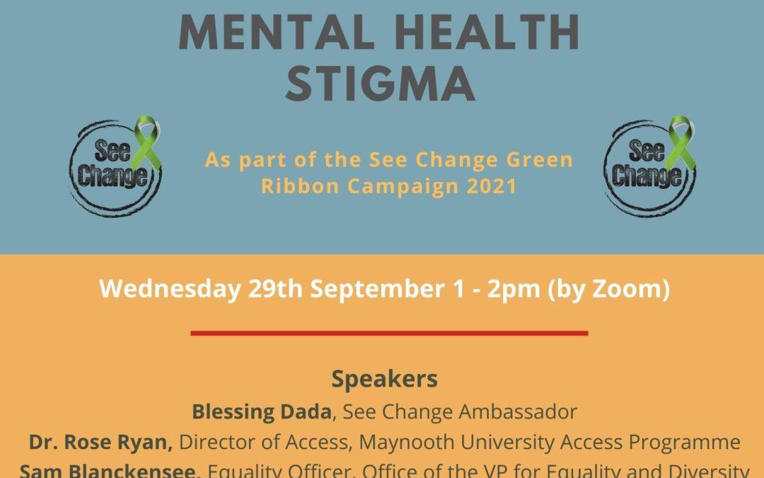 'Challenging Mental Health Stigma': Let's talk Mental Health!